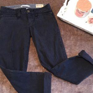 GAP Blue Pinstripe Jeans
